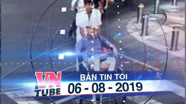 Bản tin VnTube tối 06-08-2019: Công an tìm được tài xế xích lô lấy 2,9 triệu của khách Nhật Bản