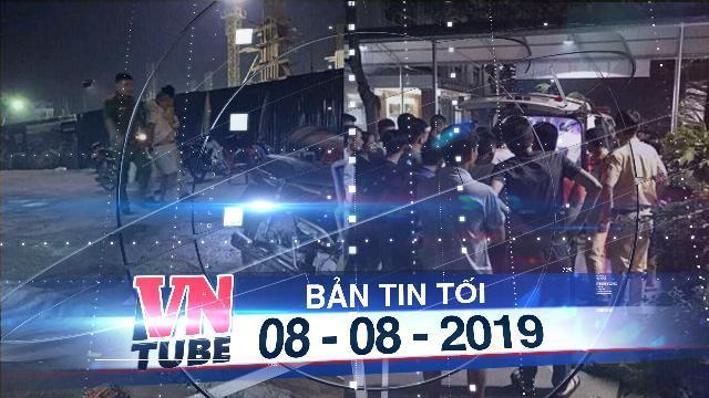 Bản tin VnTube tối 08-08-2019: Xin 'bỏ' lỗi vi phạm không được, lấy dao đâm CSGT trọng thương