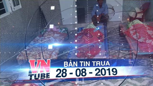 Bản tin VnTube trưa 28-08-2019: Mò cua bắt ốc, 4 mẹ con, bà cháu chết đuối đau lòng