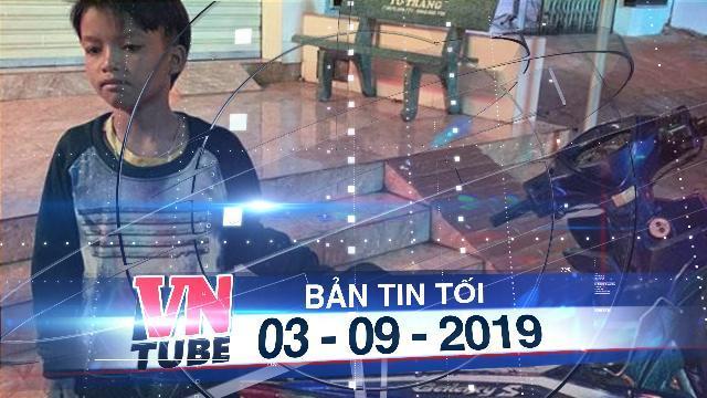 Bản tin VnTube tối 03-08-2019: Bé 13 tuổi chạy xe máy của cha lạc 300km