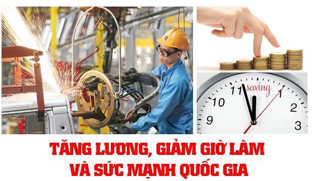 Tăng lương, giảm giờ làm và sức mạnh quốc gia