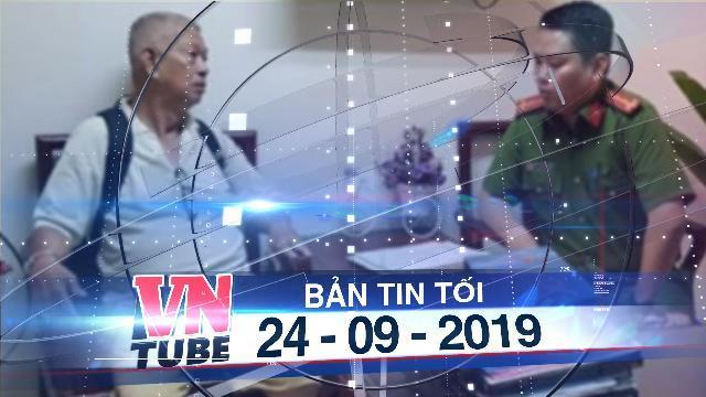 Bản tin VnTube tối 24-09-2019: Bộ Công an phá đường dây cá độ bóng đá 1.000 tỷ qua mạng