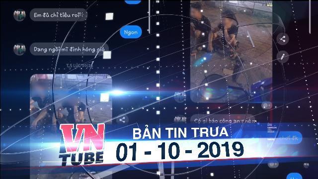 Bản tin VnTube trưa 01-10-2019: Bắt 2 thanh niên nghi giết nam sinh chạy Grab từ hình ảnh trong tin nhắn