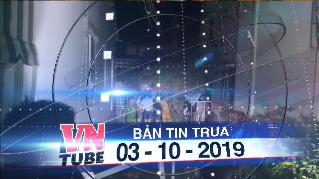 Bản tin VnTube trưa 03-10-2019:Bến Tre:Rò điện khiến 2 người chết, một người nguy kịch