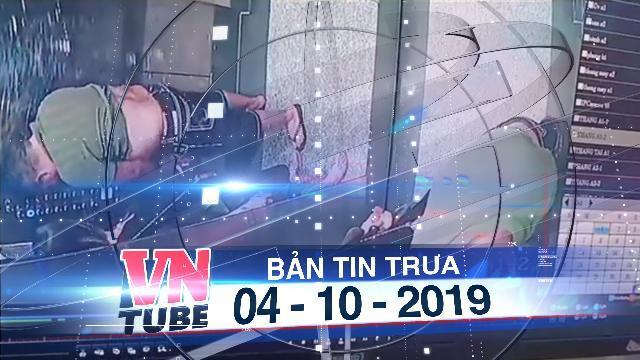 Bản tin VnTube trưa 04-10-2019: TPHCM: Người phụ nữ che chắn cho người đàn ông tè bậy trong thang máy