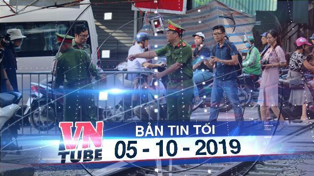 """Bản tin VnTube tối 10-10-2019: Hà Nội: Chính thức """"đóng cửa"""" xóm cà phê đường tàu"""