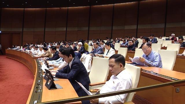 Dự kiến ngày làm việc thứ 21, kỳ họp thứ 8 Quốc hội khóa XIV