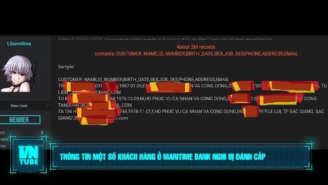Toàn cảnh an ninh mạng số 3 tháng 11: Thông tin một số khách hàng ở Maritime Bank nghi bị đánh cắp