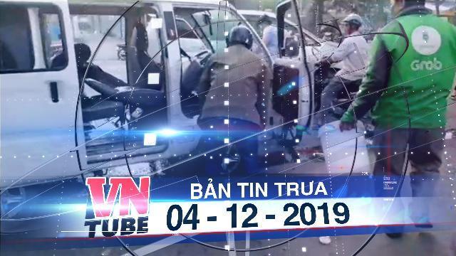 Bản tin VnTube trưa 04-12-2019: Bình Dương: Xe đưa đón học sinh bất ngờ bốc cháy