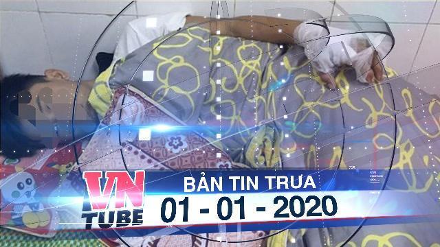 Bản tin VnTube trưa 01-01-2020: Học chế pháo nổ trên mạng, thiếu niên 13 tuổi bị giập tay, đùi