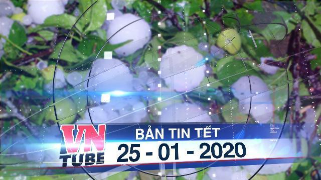 Bản tin VnTube Tết 25-01-2020: Cấp bằng Tổ quốc ghi công cho ba liệt sĩ công an hi sinh ở Đồng Tâm