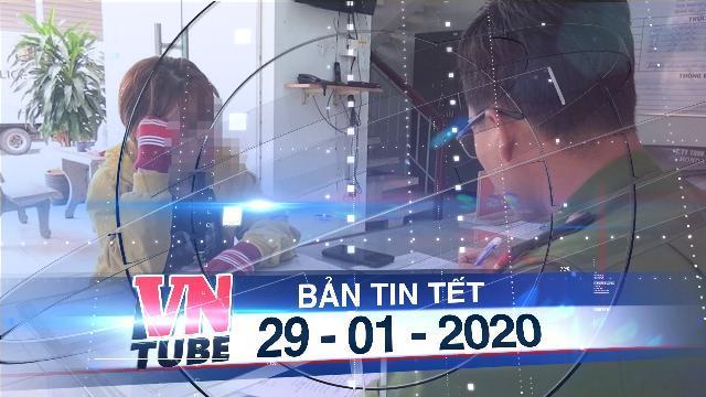 Bản tin VnTube Tết 29-01-2020: Tung tin virus corona trên mạng xã hội, bị Công an Bình Thuận triệu tập