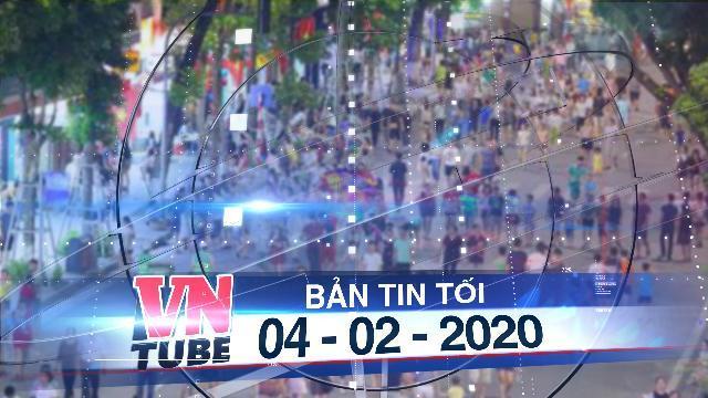 Bản tin VnTube tối 04-02-2020: Tạm dừng vô thời hạn phố đi bộ Hồ Gươm để phòng dịch