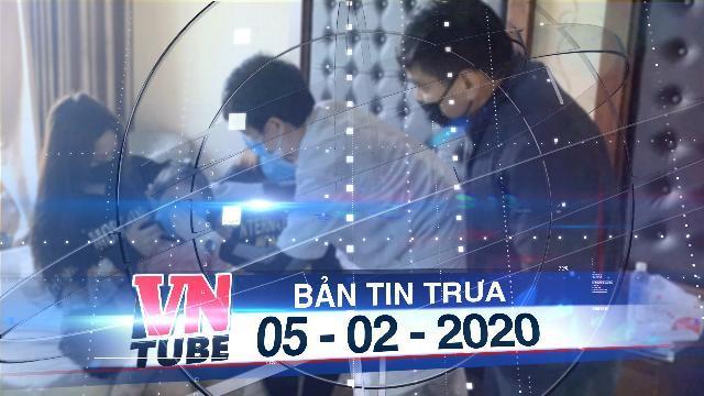 Bản tin VnTube trưa 05-02-2020: Cách ly hàng ngàn người về từ vùng dịch