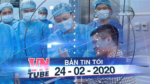 Bản tin VnTube tối 24-02-2020: Việt Nam thực hiện ca ghép chi đầu tiên trên thế giới từ người cho sống