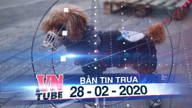 Bản tin VnTube trưa 28-02-2020: Hong Kong cách ly chó dương tính với nCoV