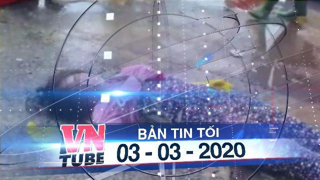 Bản tin VnTube tối 03-03-2020: Nhân viên trật tự chợ đạp vào đầu tiểu thương vì ngồi không đúng chỗ