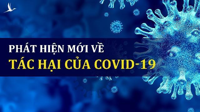 Phát hiện mới về tác hại của Covid-19