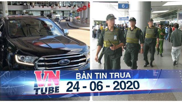 Bị nhắc đỗ xe quá giờ, tài xế đấm nhân viên an ninh sân bay