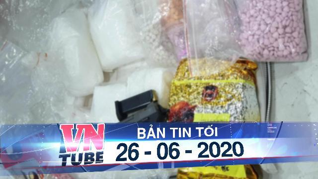 Phá đường dây ma túy từ Campuchia về TP.HCM, thu giữ nhiều súng đạn