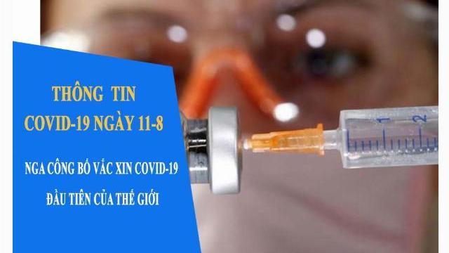 Thông tin Covid-19 ngày 11-8