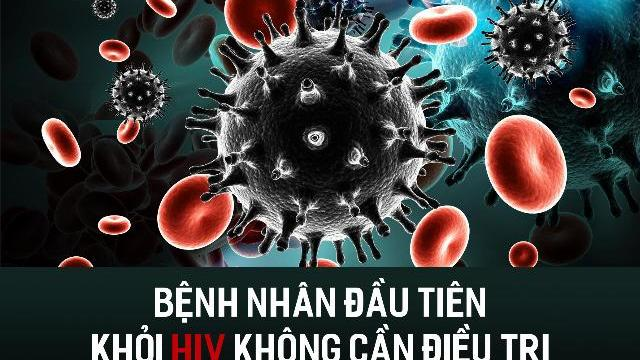 Bệnh nhân đầu tiên khỏi HIV không cần điều trị