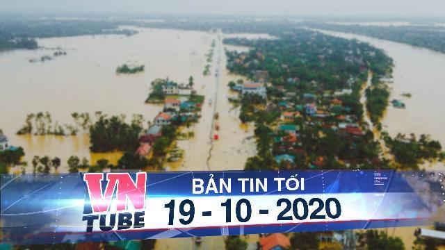 Dừng chạy tàu từ Hà Nội vào miền Trung vì đường ngập