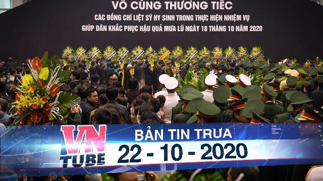 Hàng nghìn người viếng 22 quân nhân Đoàn 337