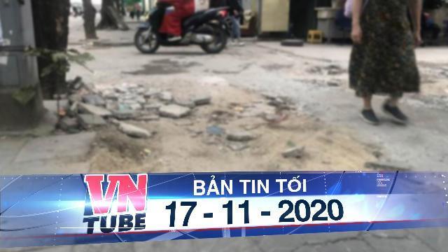 Vỉa hè lát đá độ bền 70 năm ở Hà Nội mới 3 năm đã nứt vỡ
