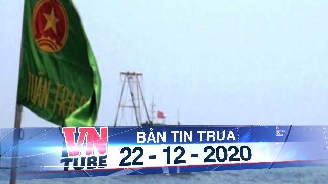 Đuổi 2 tàu cá treo cờ Trung Quốc áp sát giàn khai thác khí Thái Bình