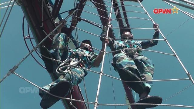 Những bài tập lạnh xương sống của Hải quân Việt Nam