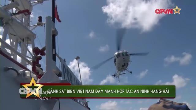 Cảnh sát biển Việt Nam thiết lập đường dây nóng với 7 quốc gia trong khu vực