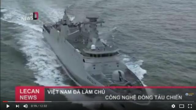 Việt Nam làm chủ công nghệ đóng tàu chiến hiện đại nhất Đông Nam Á