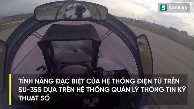 Nga tung video ấn tượng về chiến đấu cơ siêu cơ động Su-35S
