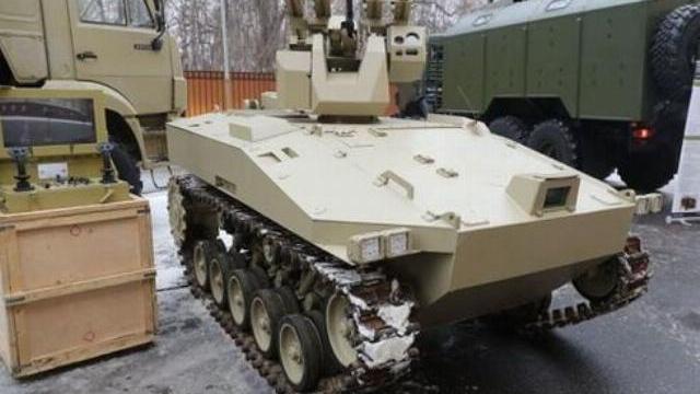Tập đoàn chế tạo súng AK phát triển robot trinh sát tấn công 20 tấn