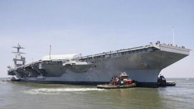 Siêu tàu sân bay đắt nhất lịch sử Mỹ sắp ra khơi thử nghiệm
