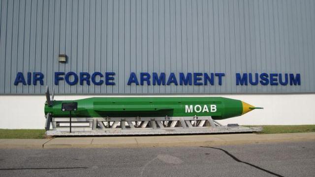 'Mẹ của các loại bom' phát nổ