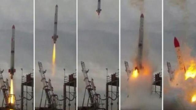 Video: Tên lửa rơi ngược trở lại bệ phóng rồi phát nổ khủng khiếp tại Nhật Bản - VTC News