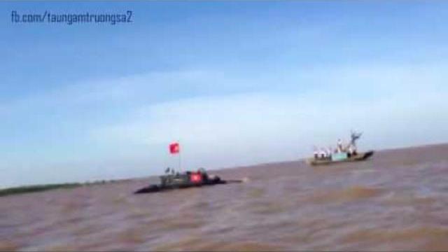 Tàu ngầm Trường Sa 2 thử nghiệm lần đầu