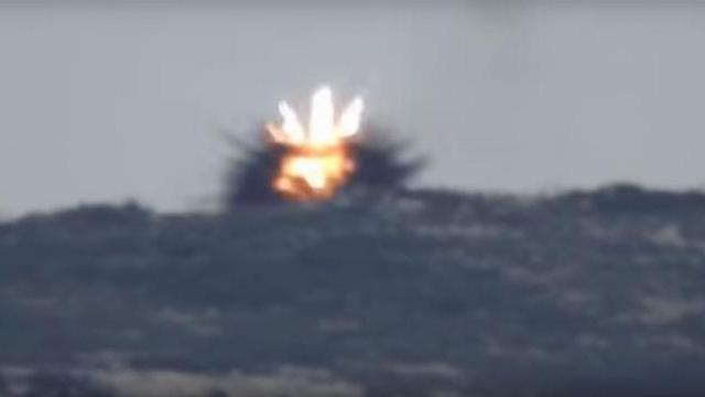 QĐ Syria bắn tên lửa chống tăng tiêu diệt tay súng bắn tỉa