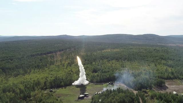 Nga phóng tên lửa trong cuộc tập trận lịch sử