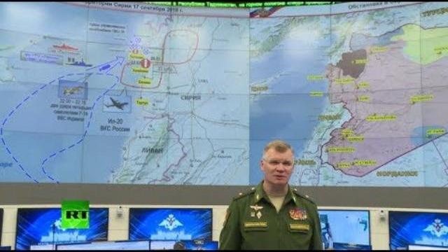 Bộ quốc phòng Nga họp báo về máy bay trinh sát IL-20 bị bắn rơi