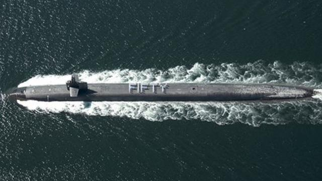 The Largest Submarine in The U.S. Navy
