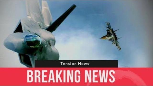 Máy bay Su-35 đuổi F-22,