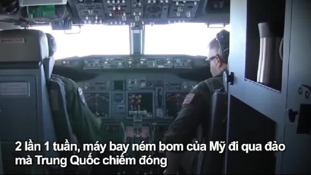 Máy bay ném bom Mỹ bay trên biển Đông 2 lần trong tuần này