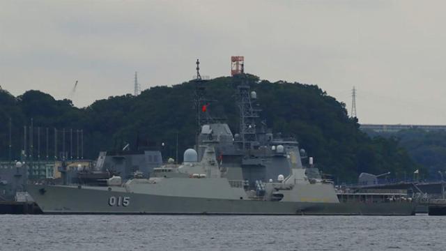 Chùm ảnh chiến hạm 015 Trần Hưng Đạo thăm Nhật Bản