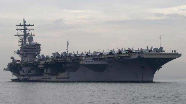 USS Ronald Reagan CVN 76 flight operations