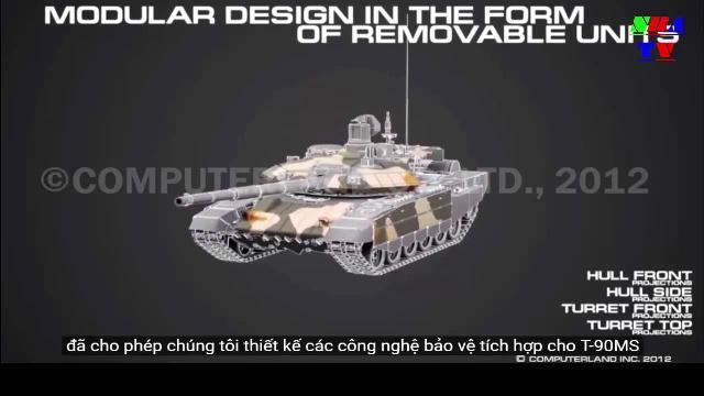 Sức mạnh của xe tăng -T90
