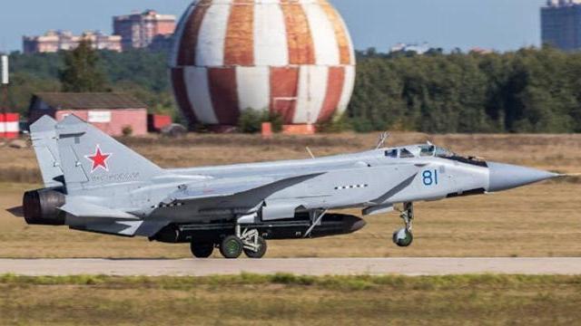 Uy lực chiến cơ Mig-31