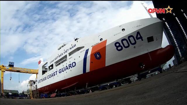 """""""Choáng"""" với tốc độ đóng tàu Cảnh sát biển của Việt Nam"""